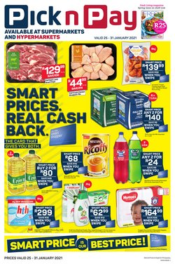 Back to school offers in the Pick n Pay catalogue ( 4 days left)