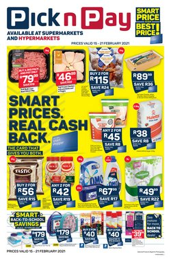 Pick n Pay catalogue in Durban ( Expired )