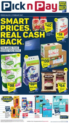 Pick n Pay catalogue in Cape Town ( Expired )