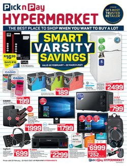Pick n Pay catalogue ( 3 days ago )