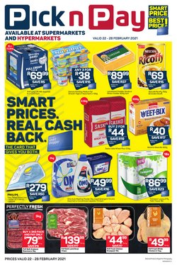Groceries offers in the Pick n Pay catalogue in Durban ( 2 days ago )