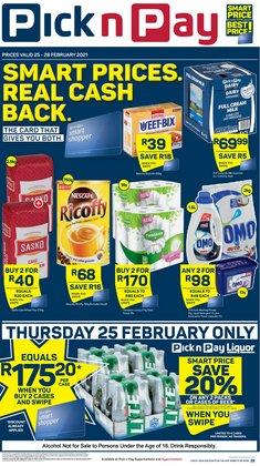 Pick n Pay catalogue ( Expires today )