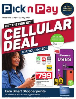 Pick n Pay catalogue ( More than a month)
