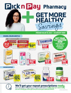 Pick n Pay offers in the Pick n Pay catalogue ( 5 days left)