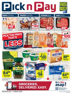 Groceries offers in the Pick n Pay catalogue ( 2 days left)