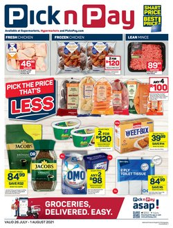 Groceries offers in the Pick n Pay catalogue ( Expires tomorrow)