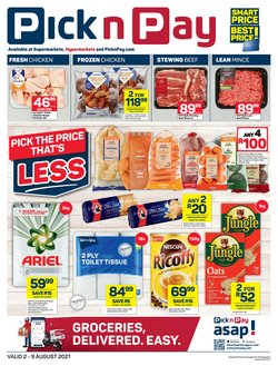 Pick n Pay offers in the Pick n Pay catalogue ( 1 day ago)