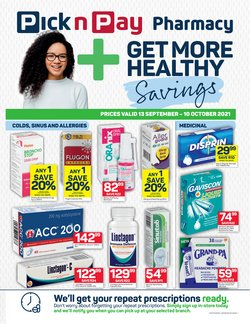 Pick n Pay offers in the Pick n Pay catalogue ( 15 days left)