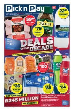 Pick n Pay catalogue ( 2 days left)