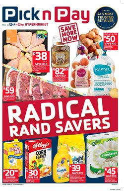 Pick n Pay deals in the Klerksdorp special