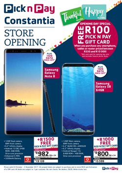 Tablet offers in the Pick n Pay catalogue in Port Elizabeth