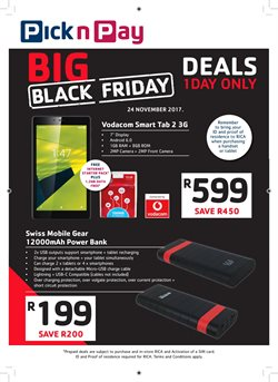 Black friday online specials cape town