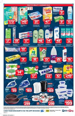 Fabric softener offers in the Pick n Pay catalogue in Cape Town