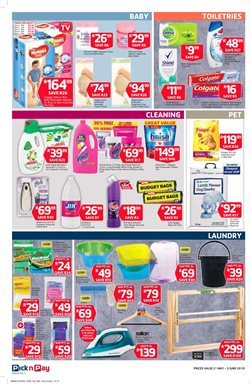 Shampoo offers in the Pick n Pay catalogue in Cape Town