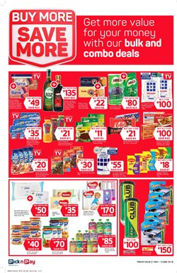 Sports offers in the Pick n Pay catalogue in Cape Town