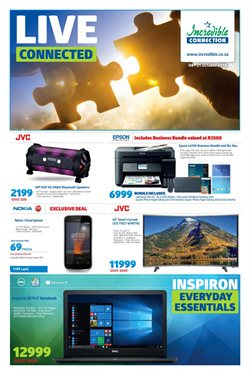 Printer offers in the Incredible Connection catalogue in Cape Town