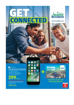 IPhone 6 offers in the Incredible Connection catalogue in Cape Town