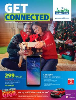 Incredible Connection deals in the Pretoria special