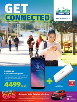 Chargers offers in the Incredible Connection catalogue in Cape Town