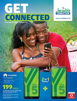 Electricals & Home Appliances offers in the Incredible Connection catalogue in Rustenburg