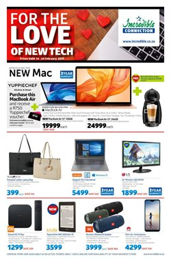 Incredible Connection deals in the Durban special