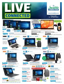 Incredible Connection deals in the Randburg special