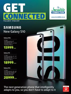 Incredible Connection deals in the Johannesburg special