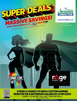 Electronics & Home Appliances offers in the Incredible Connection catalogue in Johannesburg