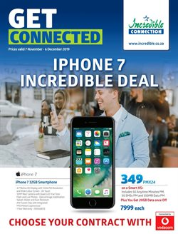 Electronics & Home Appliances offers in the Incredible Connection catalogue in Cape Town