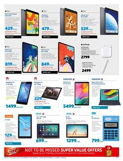 Tablet specials in Incredible Connection