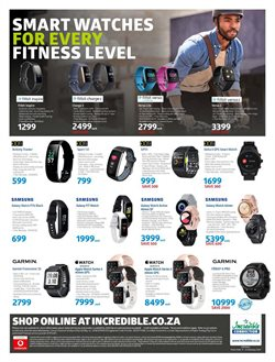 Activity tracker specials in Incredible Connection