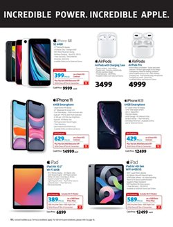IPhone X specials in Incredible Connection