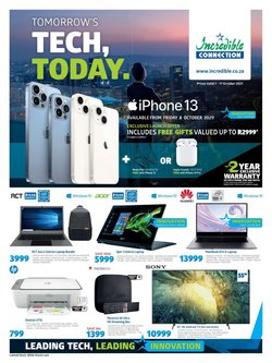 Electronics & Home Appliances offers in the Incredible Connection catalogue ( Expires today)