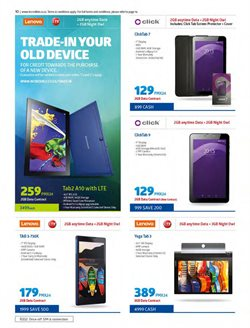 Tablet offers in the Incredible Connection catalogue in East London