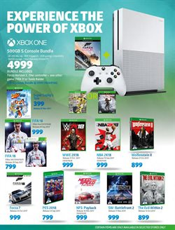 Xbox One offers in the Incredible Connection catalogue in Cape Town