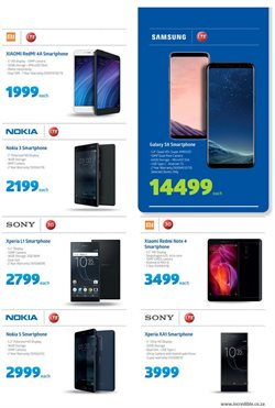 Nokia offers in the Incredible Connection catalogue in Cape Town