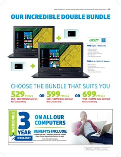 Acer offers in the Incredible Connection catalogue in Cape Town