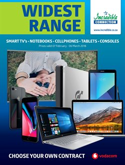 Electricals & Home Appliances offers in the Incredible Connection catalogue in Cape Town