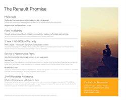 Suit specials in Renault
