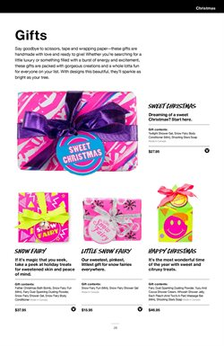Christmas offers in the Lush catalogue in Cape Town