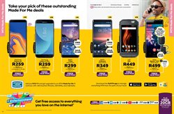 Sony smartphones offers in the MTN catalogue in Cape Town