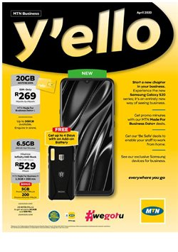 MTN catalogue in Johannesburg ( Published today )
