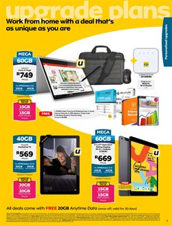 Tablet specials in MTN