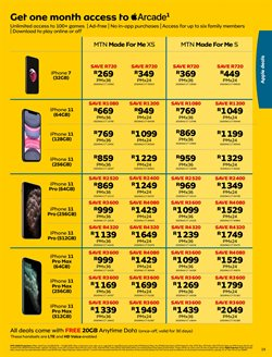 IPhone 11 specials in MTN