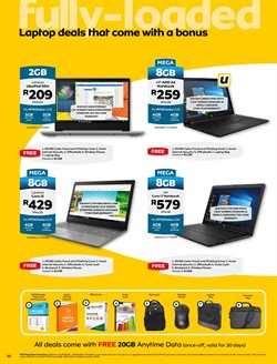 Hard drive specials in MTN