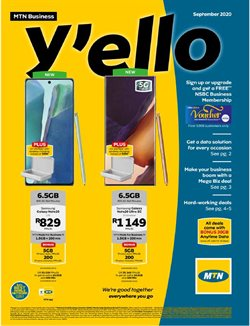 MTN catalogue in Cape Town ( 11 days left )