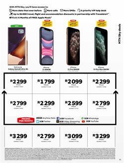 IPhone 11 pro specials in MTN