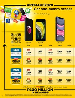 IPhone SE specials in MTN