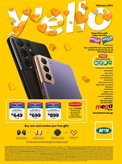 Electronics & Home Appliances offers in the MTN catalogue in Port Elizabeth ( Expires today )
