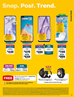 Electronics & Home Appliances offers in the MTN catalogue ( 16 days left )